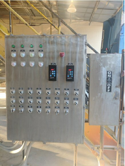 Transport Services * Geismar, LA - Process Control Panel and Tank Wash Renovation Project